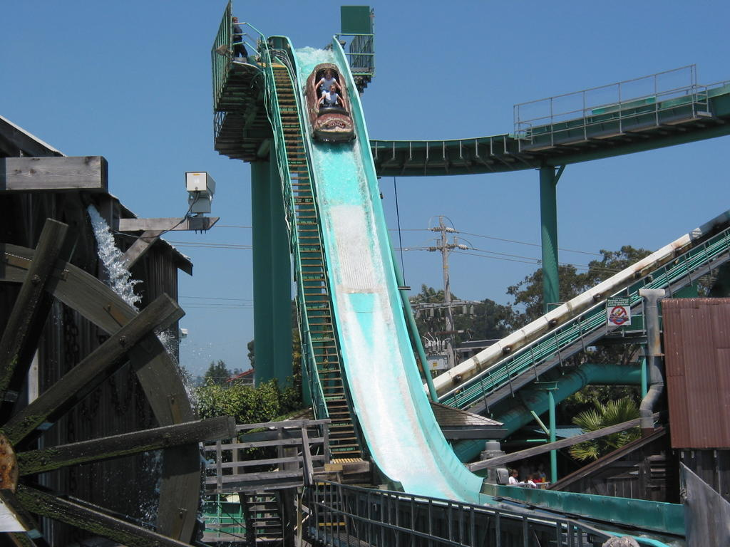 Santa Cruz Beach Boardwalk Log Ride The Best Beaches In World