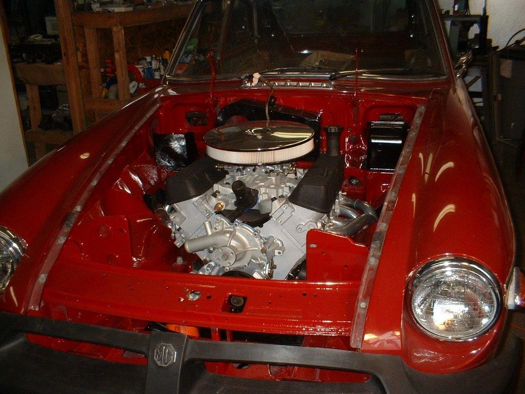 MGB V8 Conversions