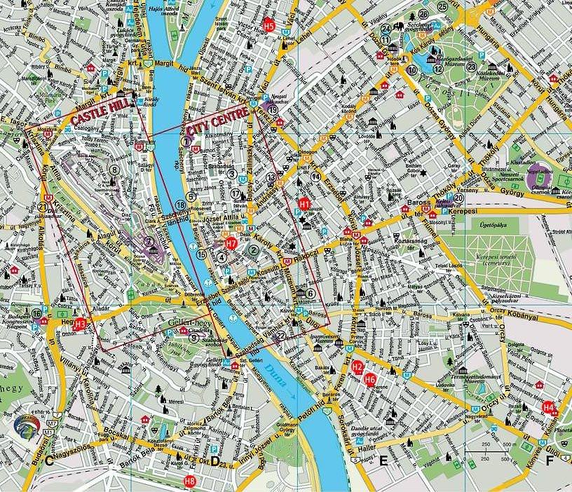 mapa budapeste Europa 2006: Mapa de Budapeste mapa budapeste