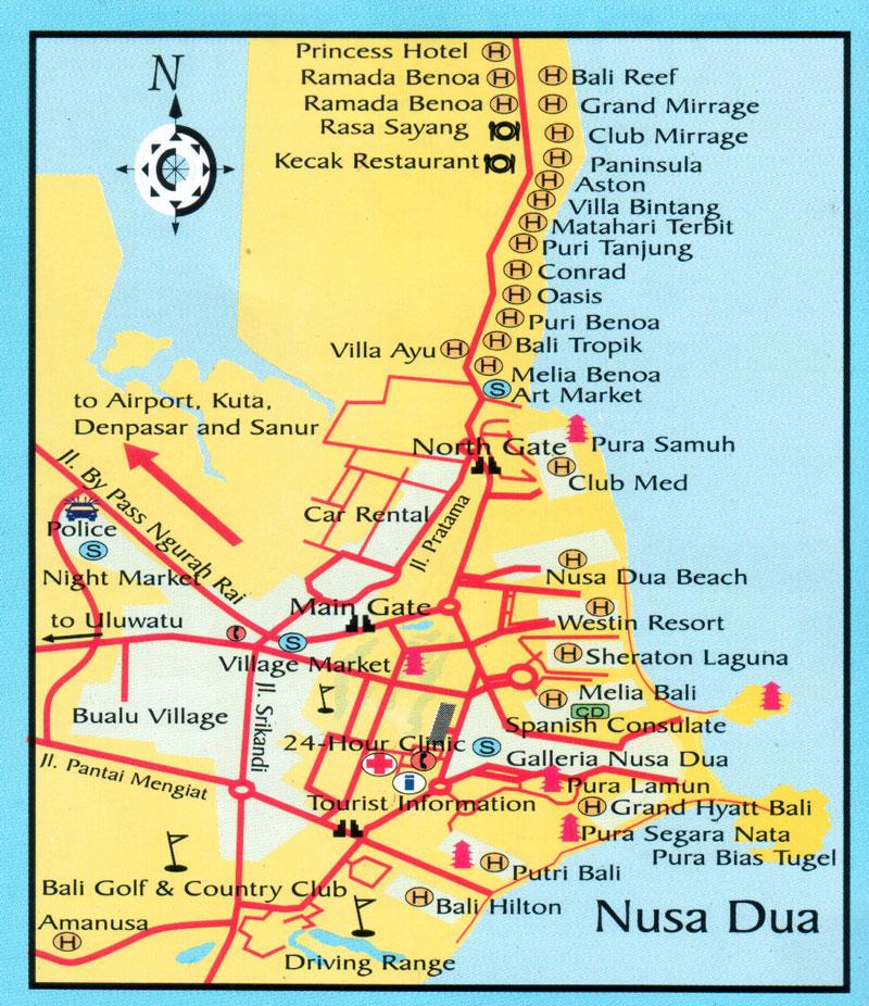 ALL ABOUT BALI TOUR AND TRAVEL DESTINATION: Nusa Dua