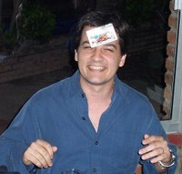 Uruguay truco card game, in your face winner typical celebration picture