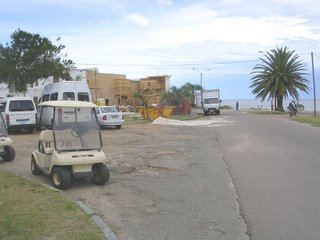 Miami Vice movie set, Atlantida, Canelones, Uruguay