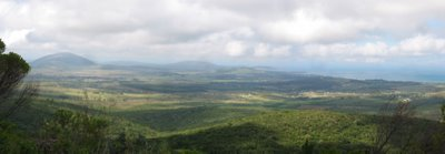 Panoramic picture of Sierra de las Animas, Maldonado, Uruguay