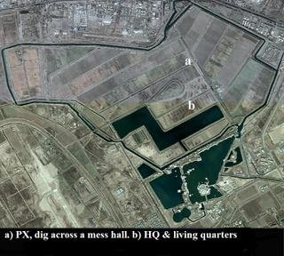 Baghdad Airport, The Green Zone and Occupation Garrisons