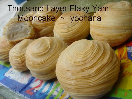 Yochana S Cake Delight Thousand Layer Flaky Yam Mooncake