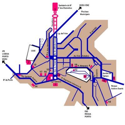 mapa cidade de lamego Lamego Em Foco: O DESAFIO   PROCURA SE MAPA mapa cidade de lamego