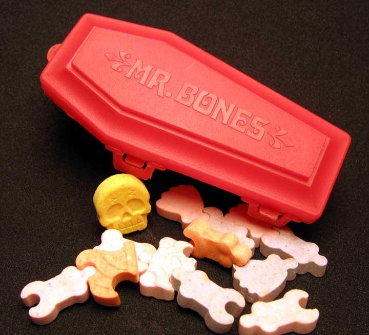 Neato Coolville Fleer S Mr Bones Candy