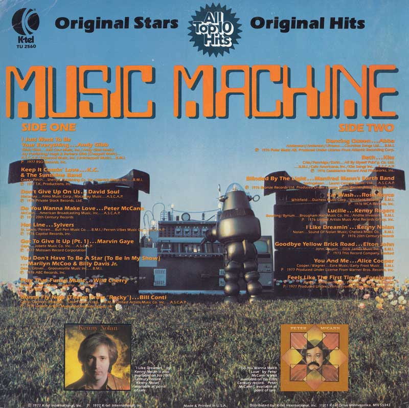 Neato Coolville Music Machine Record With Robby The Robot