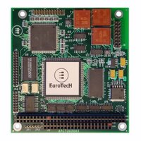 Eurotech will soon release a new PC/104 module providing an MVB interface for enhanced communication capabilities onboard trains: COM-1240