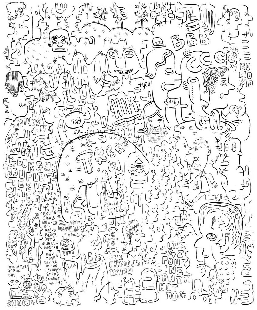 new bodega the last of the three full page doodles