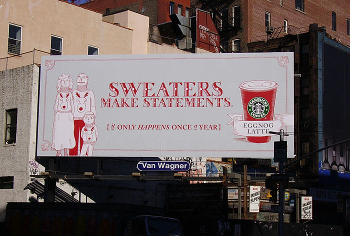 Copyranter Starbucks Seriously Needs To Go To Billboarding