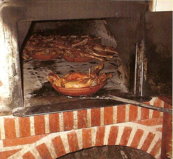 Recordando recetas manual gastron mico del cordero lechal - Como se construye un horno de lena ...