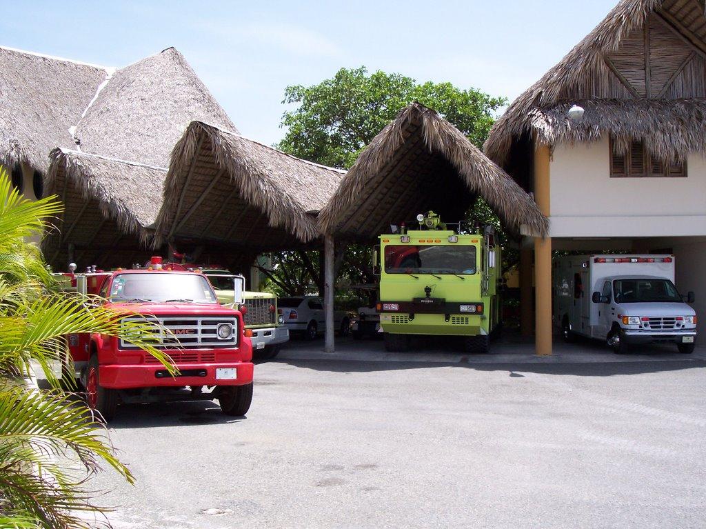 desain bangunan kantor pemadam kebakaran di punta cana