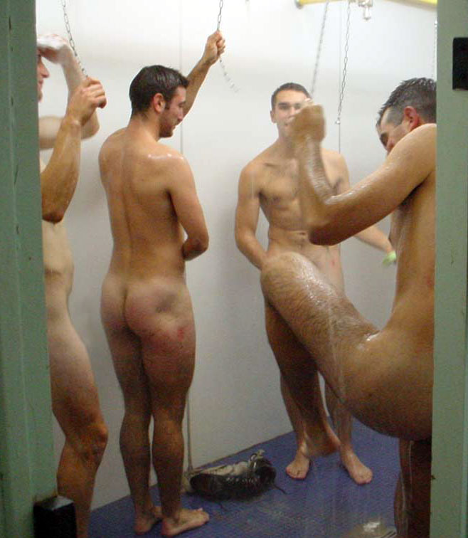 Shower room nude men — photo 12
