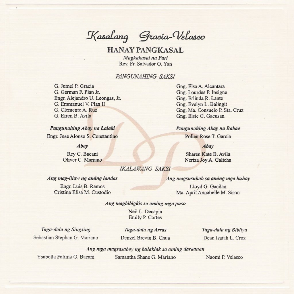 Prinl Sponsor Wedding Invitation Wedding Invitations