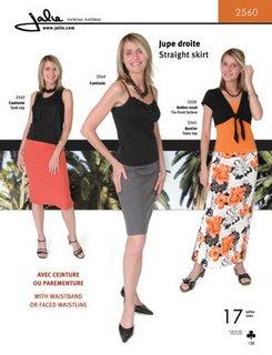 Skirt Pattern Review: Jalie 2560