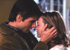 Tom Cruise and Renee Zelweger in Jerry Maguire