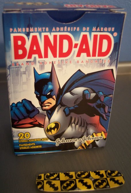 Museum Of Pop Culture Exhibit 32 Batman Band Aids