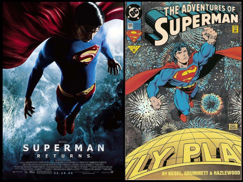 Comic Books, Movies, and Superheroes: Superman Returns (2006