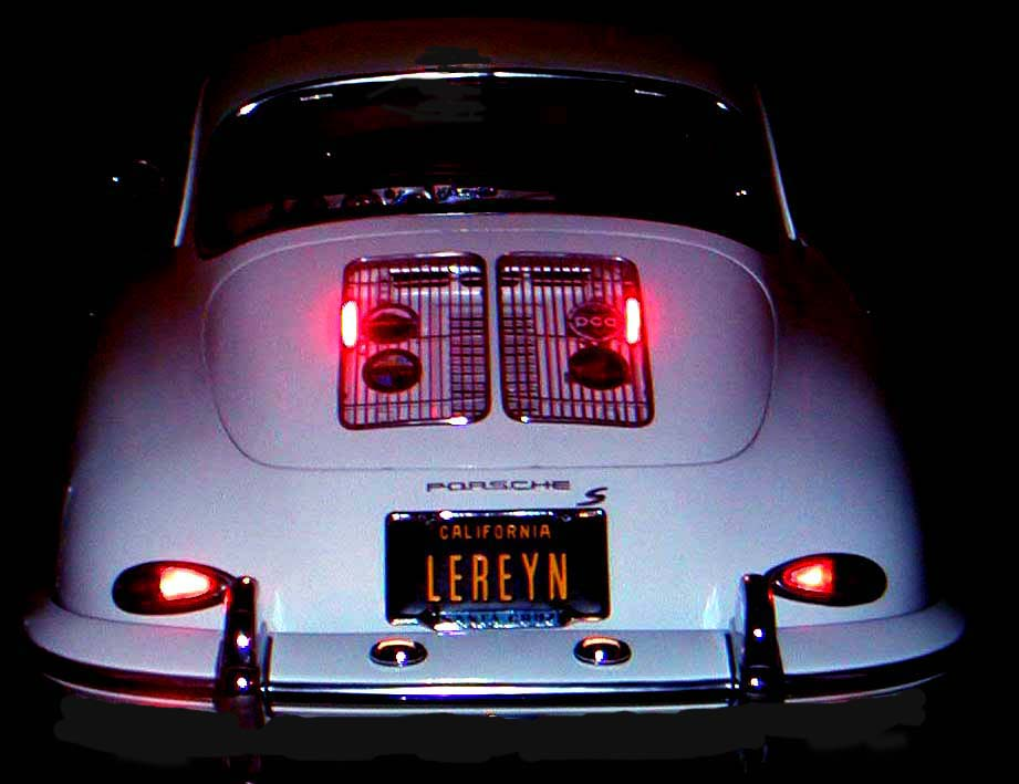 Third ke Lights for 356, 912 and 911 Porsches