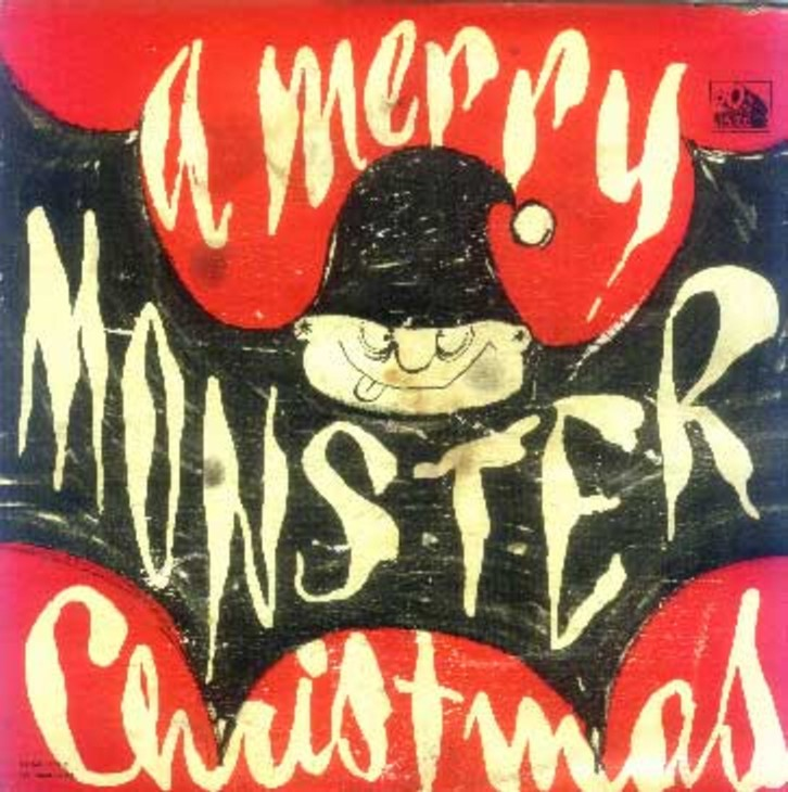 Image result for monsters on christmas