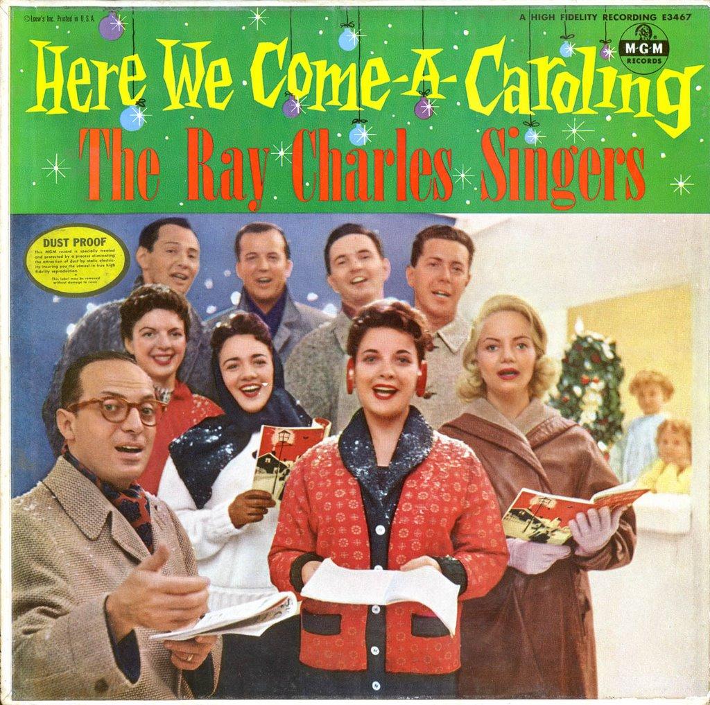 Ray Charles Christmas.A Christmas Yuleblog The Ray Charles Singers Here We Come
