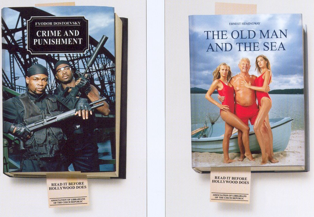 Peachy Down Under: Books in print ads