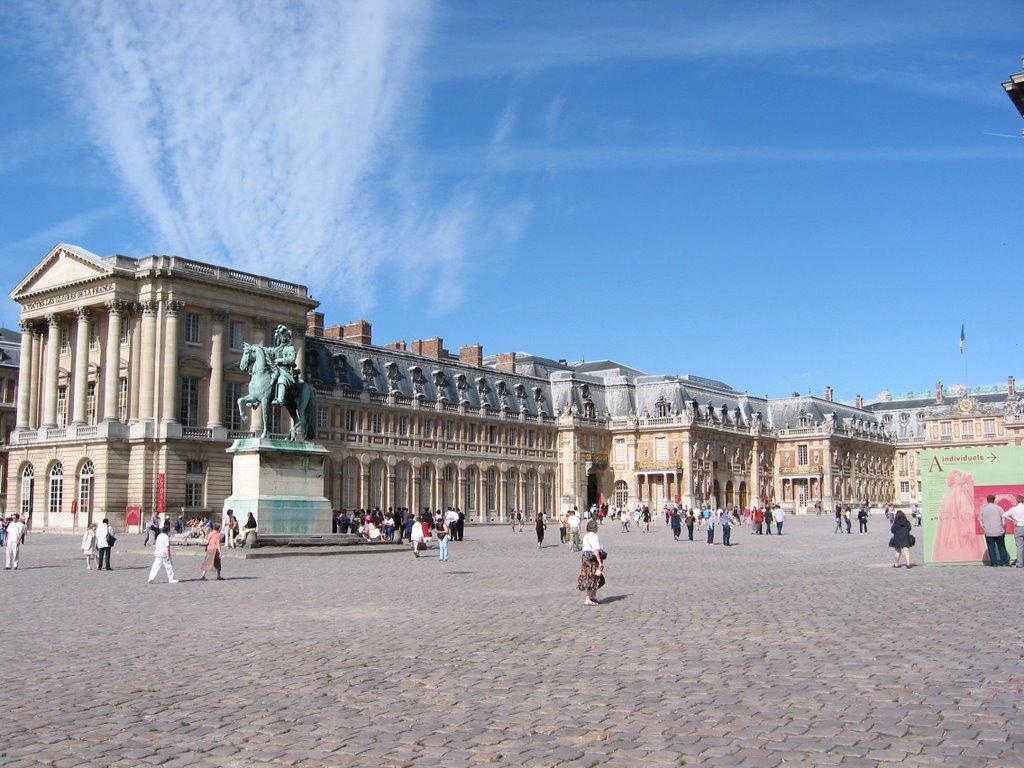 Siglos Curiosos: Los baños de Versalles.