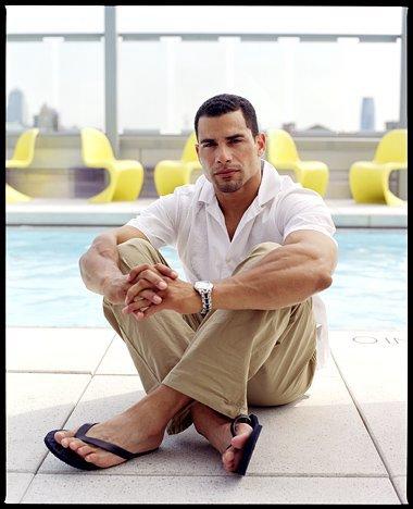 Latino male feet