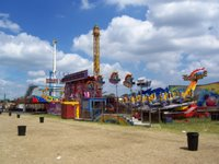 The Hoppings on Newcastle Town Moor