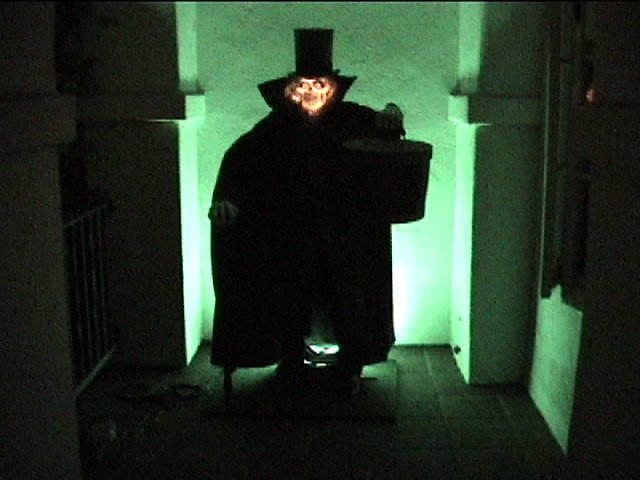 The Haunted Mansion Northside The Hatbox Ghost