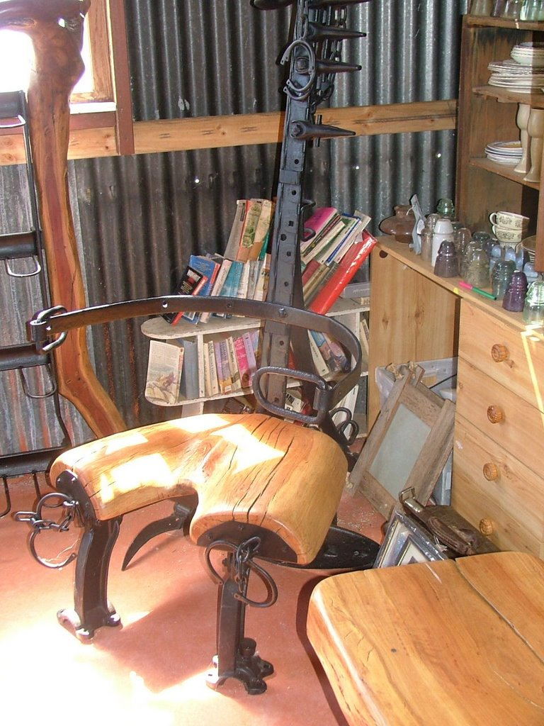 Old Runrig Bondage Furniture Australian Creator Of Real Bush