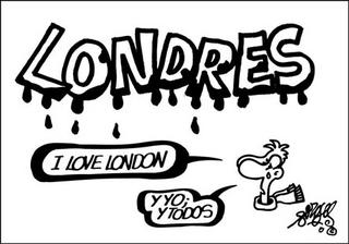 viñeta de forges londres I love London Y yo y todos