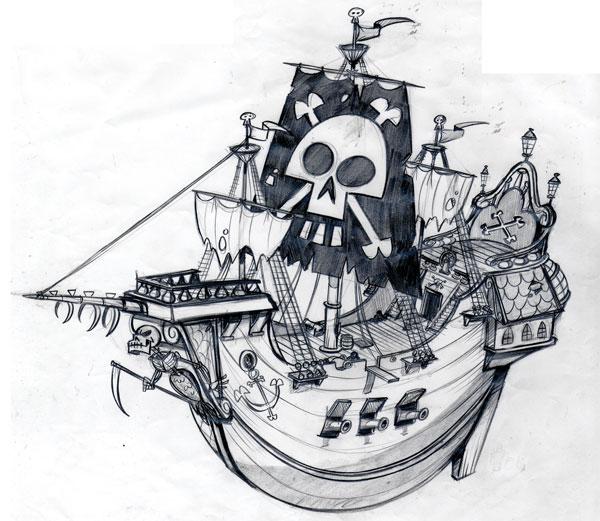 Ben Balistreri: Pirate Ship