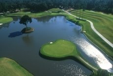 17th hole at TPC Sawgrass