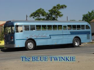 The Blue Twinkie from the Rock Church Sacramento, CA