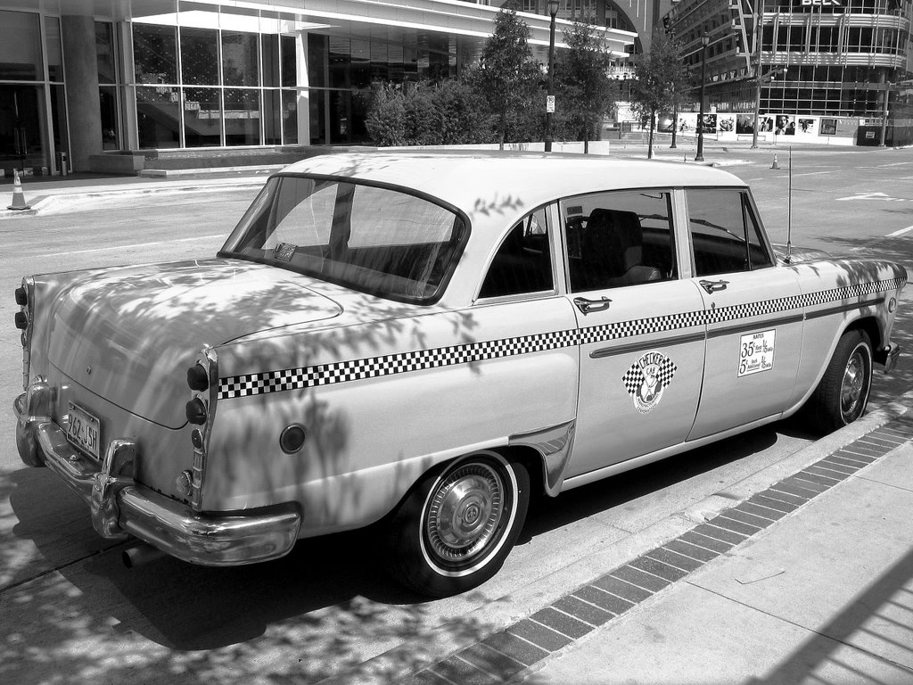 Dallas Picture Blog Vintage Taxi Cab