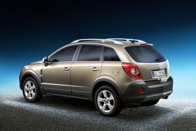 New Opel Antera, basis for 2007 or 2008 Saturn Vue