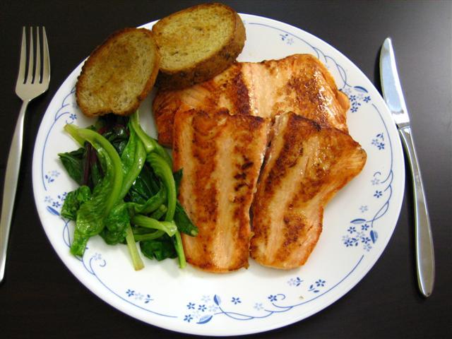 Food Network Salmon Lettuce Wraps