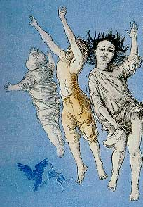 Paula Rego - Flying Children