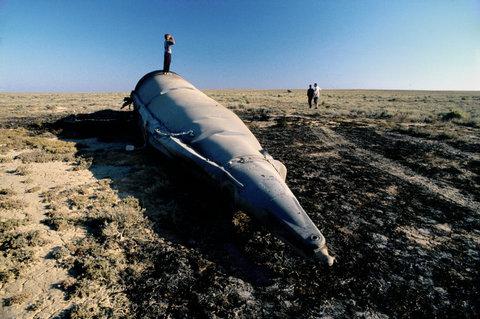 The Accidental Russophile: Spaceship Junkyard - Altai Region, Kazakhstan