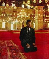 Malcolm X Praying