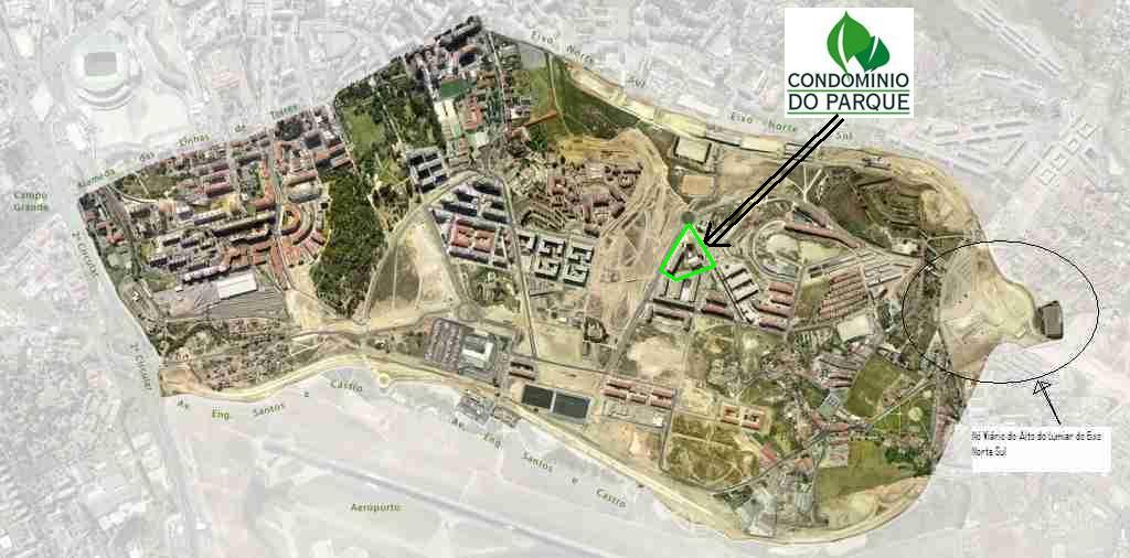 Condominio Do Parque Localizacao Do Cp Na Alta De Lisboa