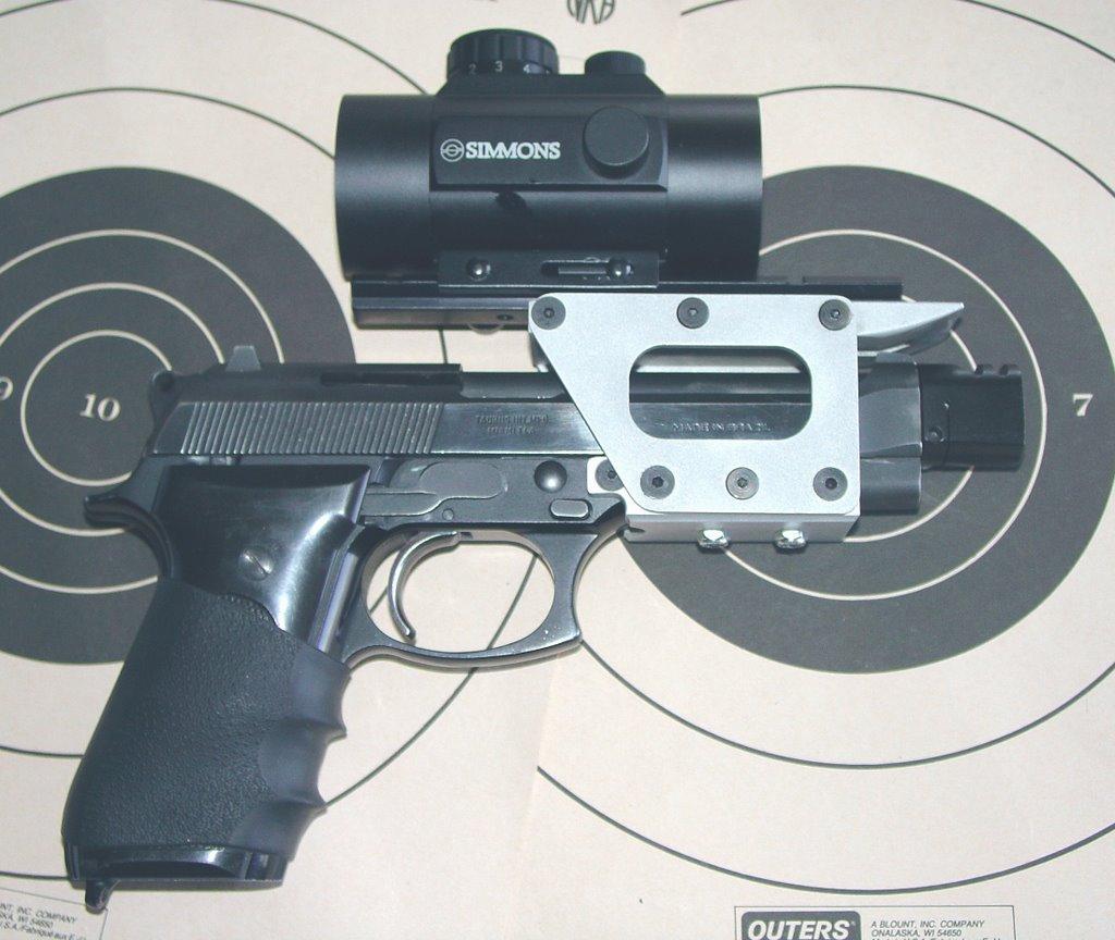Mr  Completely: Taurus PT92 Econo Race Gun Project