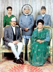 La famiglia reale nepal