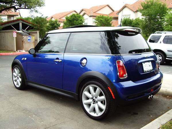 Originally I Was Think Of A Bmw 3 25ci And After Test Drive Ended Up Ing Perky At That Time Mini Center San Antonio Had 2 Available For