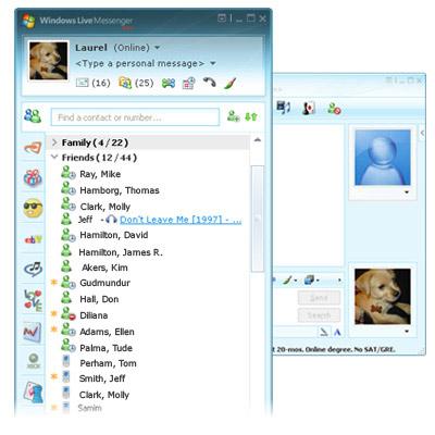 live messenger 8.1