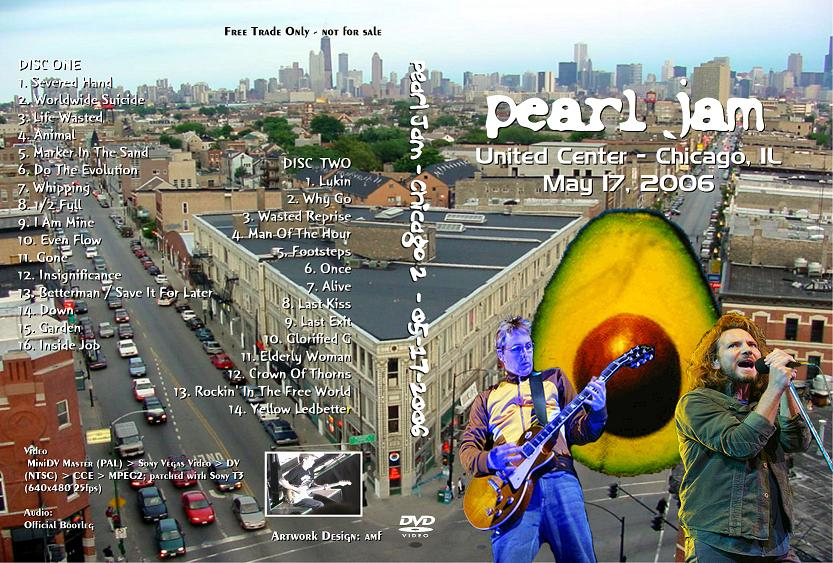 One Died Simply: Pearl Jam - Bootleg Live from Chicago DVD
