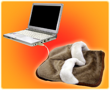 Heated USB Slippers