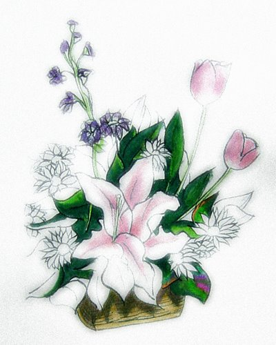 free funeral flower clip art - photo #47